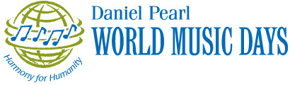 Daniel Pearl World Music Days Logo
