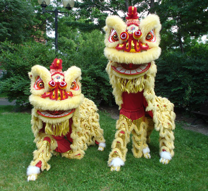 Tian Eng Lion Dance Troupe (Multiple Chinese Drums)