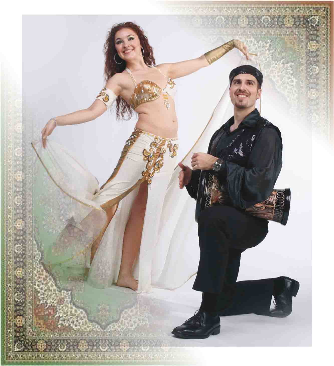 Inessa Kalabekova & Gregory Kalabekov (Belly Dance & Doumbek Drum)