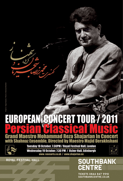 Grand Maestro Mohammad Reza Shajarian and Shahnaz Ensemble