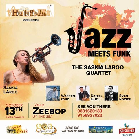 The Saskia Laroo Quartet... Jazz meets Funk